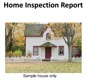 Home Inspection Sample Report